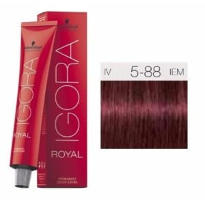 Schwarzkopf Igora Light Brown Red Extra 5-88 (60ml)