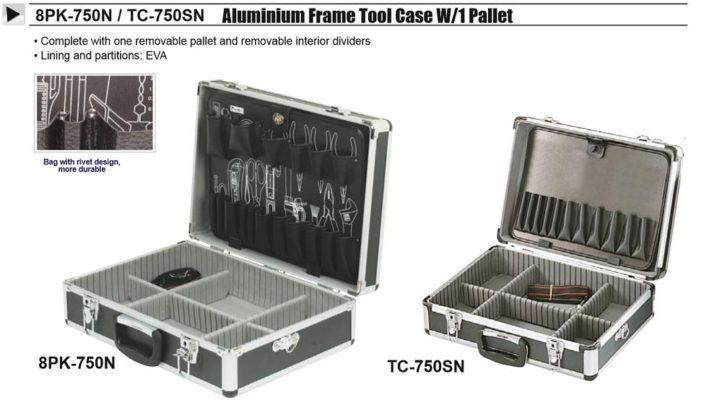 Pro\'sKit Aluminium Frame Tool Case 8PK-750N – HairDressing.com.my
